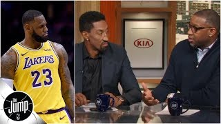 Scottie Pippen, Tracy McGrady and Paul Pierce react to LeBron's 'prove' comments | The Jump