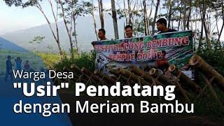 """VIRAL Video Sejumlah Pemuda """"Usir"""" Pendatang di Desanya dengan Meriam Bambu, Ini Faktanya"""