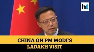Watch: China responds to PM Narendra Modi's Ladakh visit