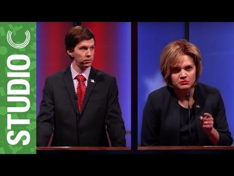 Volební debata demokratů na YouTube