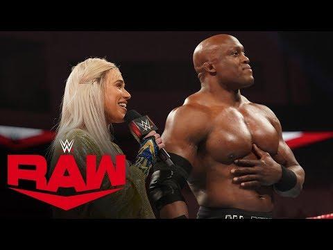 Lana demands praise from the WWE Universe: Raw, Jan. 20, 2020