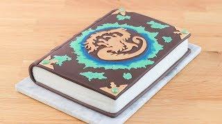 DESCENDANTS 2 CAKE: Mals Spell Book || Tan Dulce