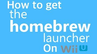How to Get Homebrew on The Wii U 5 5 2 - Most Popular Videos