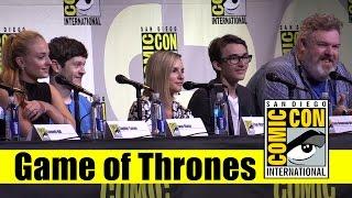 Game of Thrones   Comic Con 2016 Full Panel (Sophie Turner & Cast)