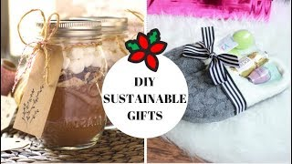 DIY SUSTAINABLE GIFT IDEAS FOR XMAS! // #STEFMAS