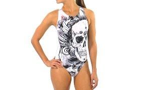 Hardcore Swim Women's Poison Water Polo Suit | SwimOutlet.com
