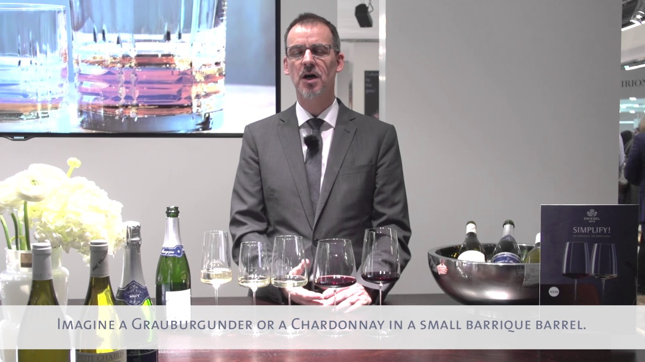 Video - Zwiesel 1872 Simplify champagneglas Light & Fresh 41cl