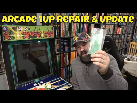 Arcade 1up Centipede trackball issues - смотреть онлайн на Hah Life