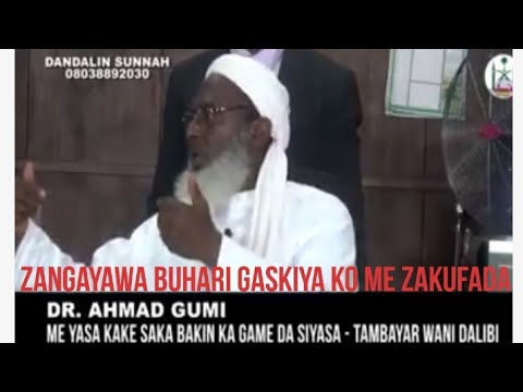 Dalilin Shigata Siyasa Da Gaya Buhari Gaskiya