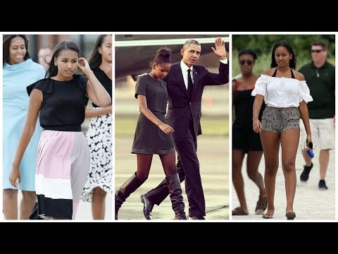 Barack Obama's Daughter Sasha Obama | 2017