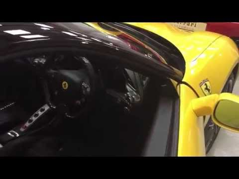 New Ferrari 488 GTB A Quick Look Inside