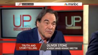 """Oliver Stone on """"Zero Dark Thirty"""" and Politics in Hollywood Movies - UP w/ CHRIS HAYES"""