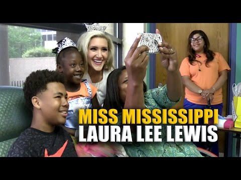 Video: Miss Mississippi starts reign with Batson visit