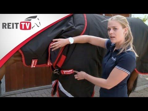 Ausrüstung: So entsteht eine Pferdedecke - Zu Besuch bei Horseware