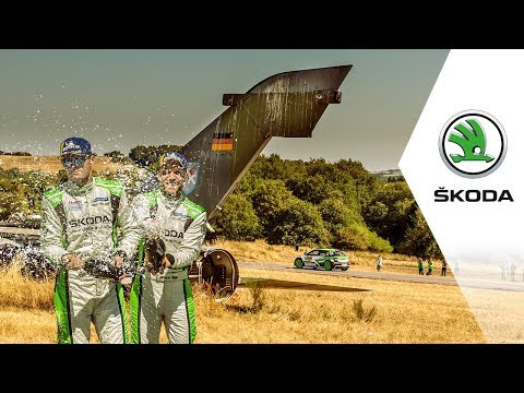 From Bad Luck Back To The Top: The Story Of 2018 Rallye Deutschland | ŠKODA Motorsport