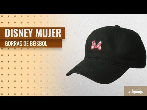 10 Mejores Ventas Mujer Gorras De Béisbol De Disney  Disney Women s Minnie  Mouse Washed Baseball f3196a2d90a