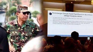 Sindir Simposium Menko Kemaritiman, Suryo Prabowo: Masak Bahas Keunggulan Ma'ruf Amin Jadi Cawapres?