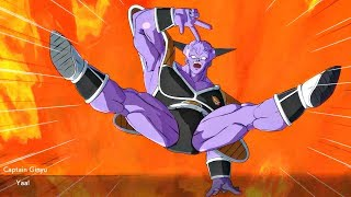 Dragon Ball FighterZ - Ginyu Shows His Best Pose To Gohan & Krillin & Gohan is Impressed