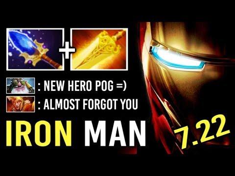 FORGOTTEN HERO IS BACK 7.22 Scepter Clockwerk Mid Non-Stop Gank Crazy Imba Gameplay by DK Dota 2