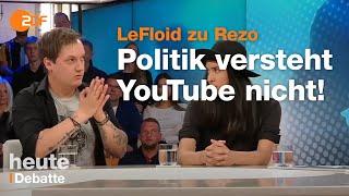 LeFloid und die junge Generation zum GroKo-Desaster - Talkrunde bei Illner | ZDF