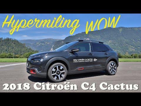 Hypermiling... 2018 Citroen C4 Cactus 1.2l PureTech 130 S&S