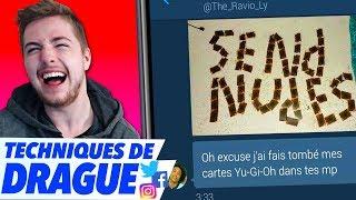 LES PIRES MESSAGES DE DRAGUE SUR LES RÉSEAUX SOCIAUX (garçons)