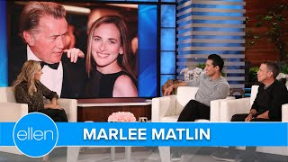 Martin Sheen Helped 'The West Wing' Co-Star Marlee Matlin Get Into A White House Event
