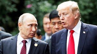 До и после двух минут встречи Путина и Трампа
