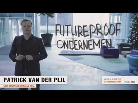 Business model generatie. Patrick van der Pijl tijdens de Week van de Ondernemer. WVDO15