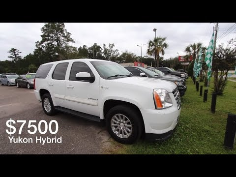 Here's a $7500 GMC YUKON Hybrid Mode 2 ( For Sale Review ) Was this a good Seller?