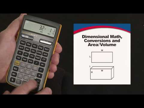 Construction Master 5 - Dimensional Math and Conversions