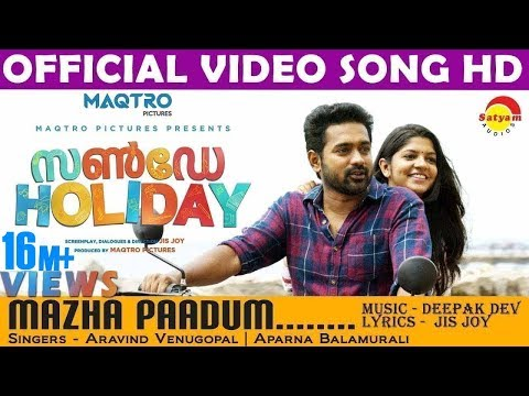 Mazha Paadum Song - Sunday Holiday - Asif Ali