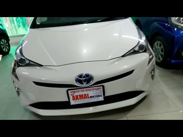 Toyota Prius A Premium 2017 for Sale in Lahore