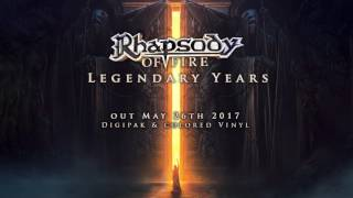Here it is The second single of our upcoming album LEGENDARY YEARS is Land of Immortals