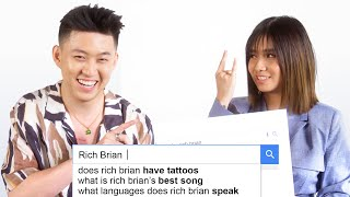 Rich Brian and NIKI Answer the Web's Most Searched Questions   WIRED