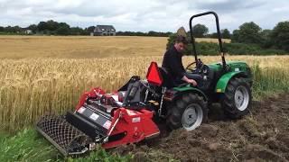 Минитракторы для приусадебных, фермерских и коммунальных хозяйств видео