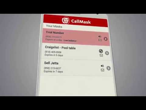 Video of Callmask - Disposable Numbers