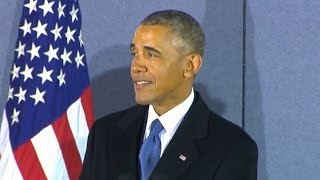Obama Final Speech Before Departing Washington (FULL) | ABC News