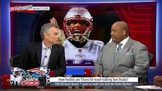 How Foolish Are The Titans For Trash-talking Tom Brady   SFY