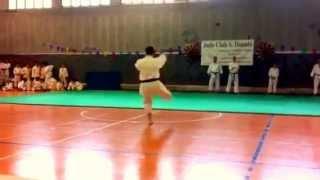 preview picture of video 'Andrea Bertuzzi KARATE Judo Club San Donato Milanese'