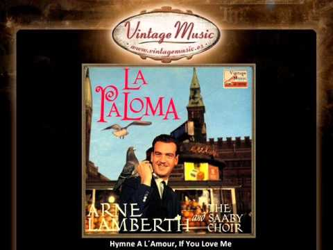 Arne Lamberth - Hymne A L´Amour, If You Love Me (VintageMusic.es)