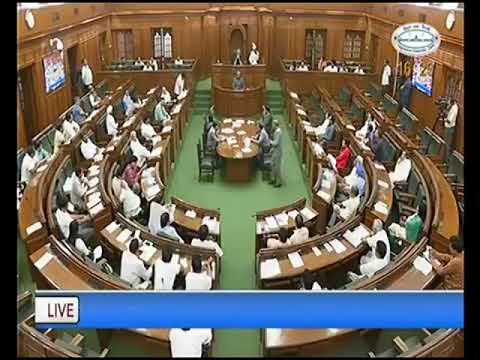 CM Arvind Kejriwal Speech in Delhi Assembly how LG office has created hurdles in Delhi Govt Schemes