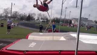 Joey Warnecke (SO) Pole Vault 4/9/13 (2)
