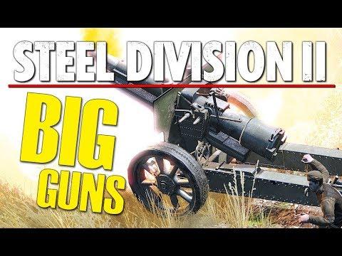 BIG GUNS! Steel Division 2 BETA Conquest Gameplay (Naratch Lake, 3v3)