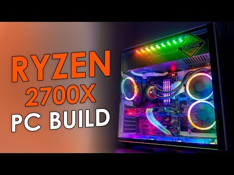 AMD RYZEN 7 2700X - ASUS ROG X470 - RGB PC Build
