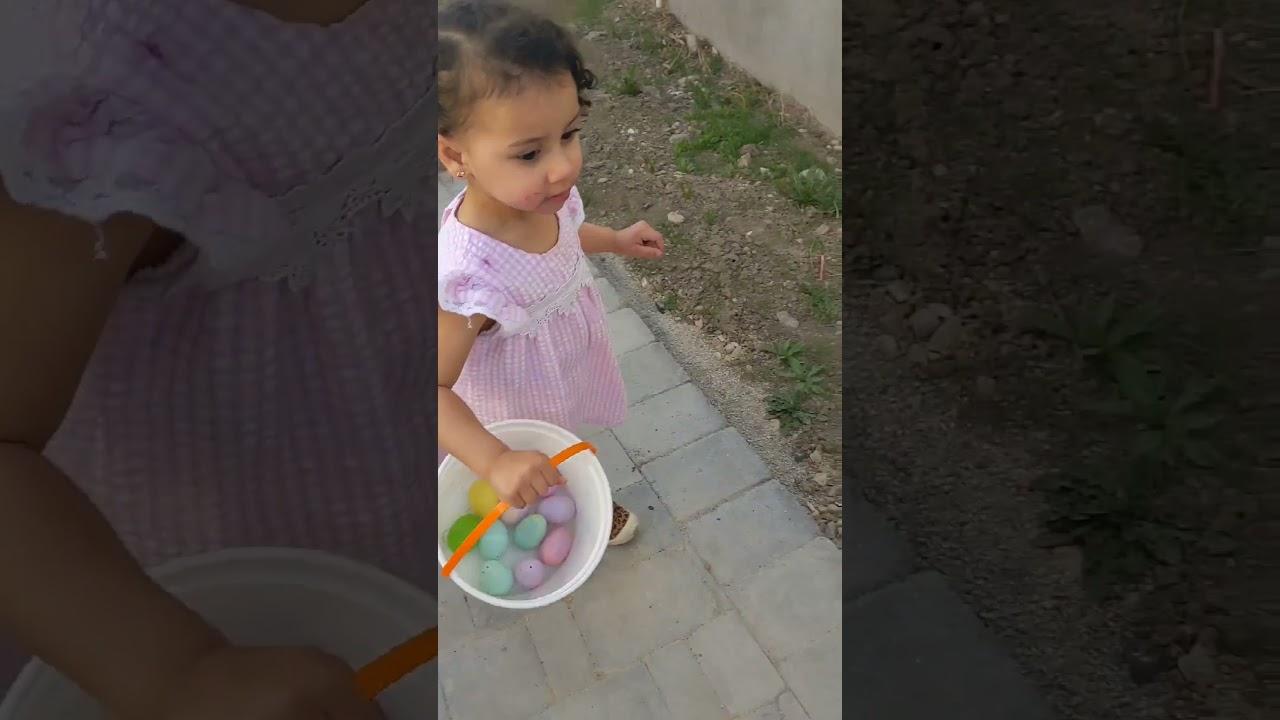 EGG HUNT!! Easter Celebration With The Kids. Sugar Cookies Egg Decoration