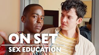 Behind the Scenes of Sex Education with Asa Butterfield & Ncuti Gatwa | On Set