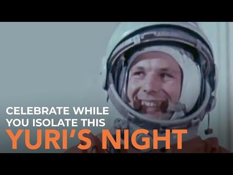 Celebrate while you isolate this Yuri's Night - Robert Picardo