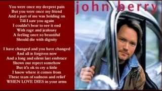 John Berry - When A Man Loves A Woman / When Love Dies