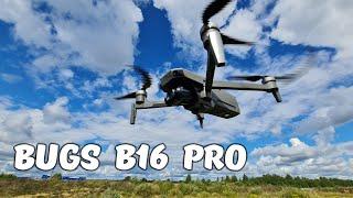 Квадрокоптер BUGS B16 PRO ...4К видео, 3-х осевой подвес, стабилизация. Обзор дрона